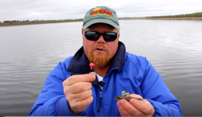 How to double hook a minnow