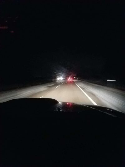 On the road after 4 AM