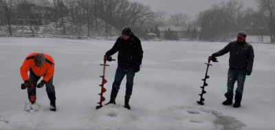 Fastest ice fishing drill and auger combination 2019