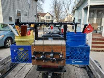 Snowmobile Mods for Ice Fishing