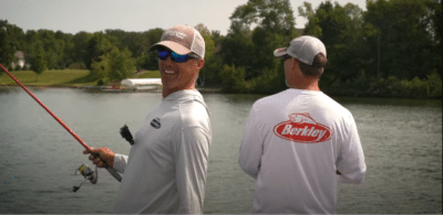 Bass facts with Berkley Fishery biologist